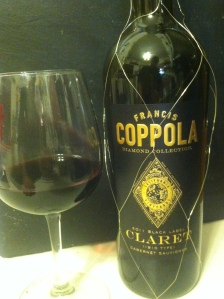 Francis Coppola Diamond Collection 2011 Black Label Claret